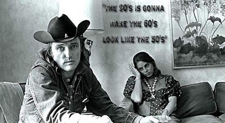 Dennis Hopper and wife Daria Halprin The Jack Tar Hotel San Francisco  The Last Movie  6/72