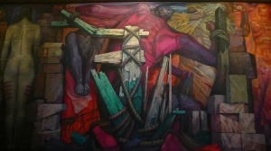 detalle, LIberacion, jorge gonzalez camarena, Bellas Artes.