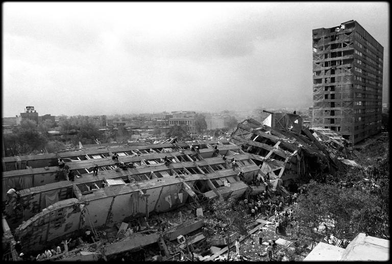 MAC_Edificio Nuevo Leon_Tlatelolco_1985