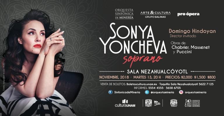 Sonya Yoncheva flyer